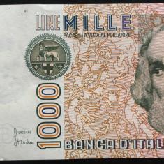 Bancnota 1000 LIRE - ITALIA, anul 1982    *cod 503 - A.UNC!
