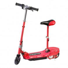 Trotineta electrica pentru copii E-Scooter, suporta maxim 70 kg, 12 km/h, banda LED