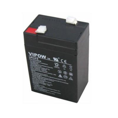 Acumulator cu gel, 6V, 4,5A, Vipow - 402662 foto