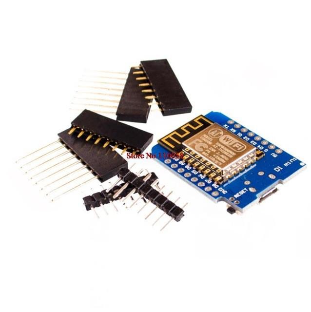 Placa D1 Mini NodeMcu Lua WIFI WeMos cu ESP8266 4M 3.3V