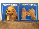 Set 2 albume-ghid Egyptian Sculpture, Assyrian Sculpture - BRITISH MUSEUM