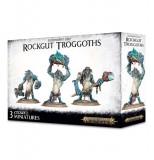 Pachet Miniaturi Warhammer AOS, Games Workshop, Gloomspite Gitz Rockgut Troggoths