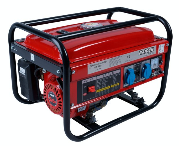 Generator de curent electric 2 KW pe benzina Raider Power Tools
