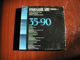 Cumpara ieftin MAXELL-Banda UD XL 35-90, 1800 ft/550 m, pe rola plastic 18 cm Philips,excelenta
