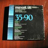 MAXELL-Banda UD XL 35-90, 1800 ft/550 m, pe rola plastic 18 cm Philips,excelenta