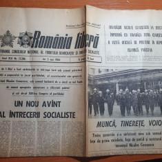 romania libera 3 mai 1984-art. si foto canalul dunare marea neagra si pod agigea