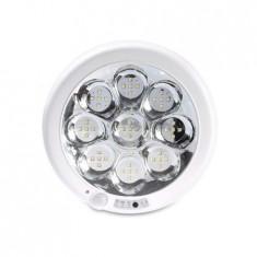 LAMPA PLAFON ROTUNDA CU SENZOR MISCARE SI ACU EuroGoods Quality, Proline