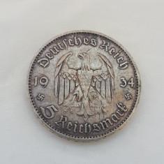 Germania - 5 Reichsmark 1934 A (Argint)