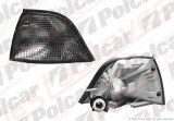 Lampa semnalizare fata Bmw Seria 3 Coupe/Cabrio (E36) 12.1990-03.2000 TYC partea dreapta, fumuriu cu suport bec
