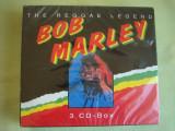 BOB MARLEY - The Reggae Legend - 3 C D Originale SIGILATE, CD