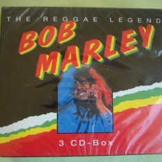 BOB MARLEY - The Reggae Legend - 3 C D Originale SIGILATE