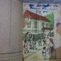 abecedar partea I 1939 manula scolar vechi uzat deteriorat cititi descrierea