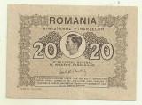 Bancnota Romania 20 LEI 1945