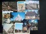 FRANTA 8 CARTI POSTALE ANII 70-80 IMPECABILE NEFOLOSITE+BONUS 3 POSTALE ROMANIA