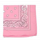 Bandana floral - roz