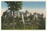 cp Calimanesti : Hotelurile Geante No.1 si 2 - circulata 1915, timbre