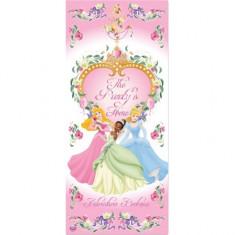 Banner decorativ plastic Princess 165 x 85 cm