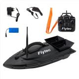Barca Navomodel de pescuit plantat si nadit momeala cu telecomanda Flytec D11, RESIGILAT ,2 cuve, 2 motoare, acumulator 5200mAh