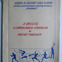 A XIII-a editie a campionatului european de baschet masculin