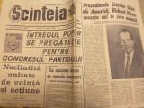 2 Ziare Scanteia 1969, Nixon/Ceausescu