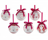 Set 14 globuri decorative Reindeer