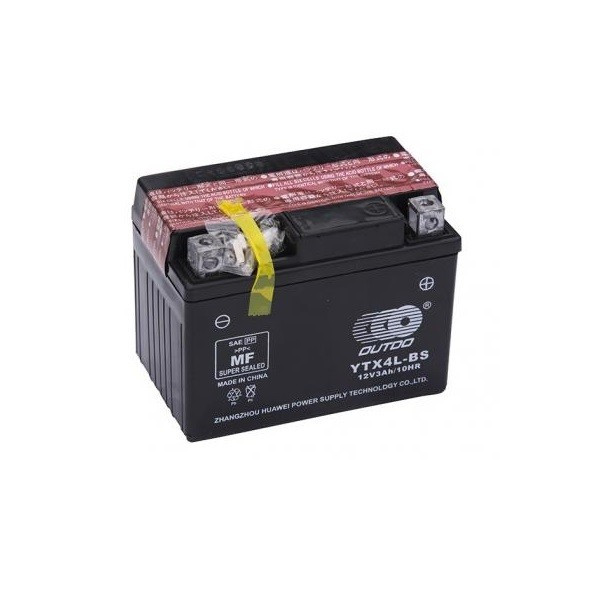 BATERIE – ACID – USCATA – MF – 12V 4Ah – YTX4L-BS (113x70x85)