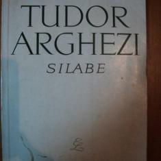 SILABE de TUDOR ARGHEZI , 1965