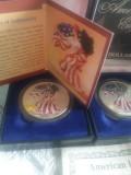 American Eagle Silver Dollar 1999 - 2000, America de Nord