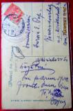WW1. Carte postala de pe front. Békéscsaba 1919, in drum spre Budapesta.
