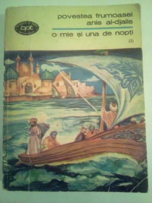 Bpt 453 1001 nopti vol 2, Povestea frumoasei anis al-djalis foto