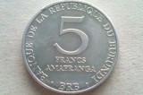 MONEDA 5 FRANCI 1980-BURUNDI