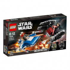 LEGO® Star Wars A-Wing contra lui TIE Silencer Microfighters 75196