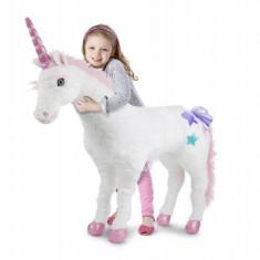 Unicorn gigant din plus Melissa and Doug, Melissa & Doug