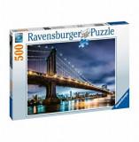 Puzzle Ravensburger - New York, 500 piese