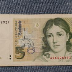 5 Mark 1991 Germania RFG, marci germane