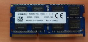 Memorii Laptop Kingston 8GB DDR3 PC3L-12800S 1600Mhz 1.35V