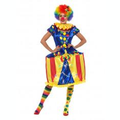 Costum de clown carusel pentru adulti