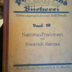 Carte 1928 Naturaufnahmen/Fotografii de natura, de F. KANTAK, bibl. Ctin Papp