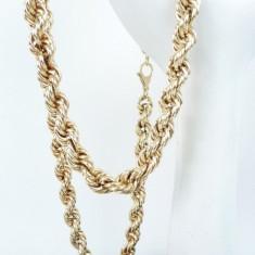 lant argint xxl unisex aurit vintage