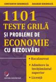1101 teste grilă și probleme de economie cu rezolvări