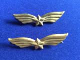 Insigne militare-Insigne România-Semne de armă-Aviație stea (culoare aurie mică)