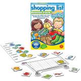 Joc interactiv Lista de cumparaturi hainute Toys, 18 x 12 x 2 cm, 3-7 ani