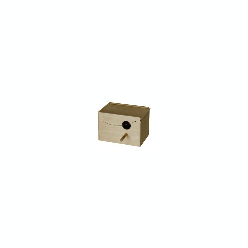 Cuib din lemn pentru pasari 23x15x16 cm - 7767