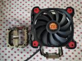 Cooler CPU Thermaltake Riing Silent 12 Pro Red socket 1151 v2,1150,1155,1200., Pentru procesoare