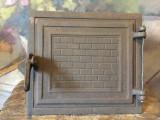 Design / Decor - Veche usa din fonta pentru teracota / soba / Jiul Bals !