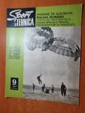 sport si tehnica septembrie 1971-salistea sibiu,parasutism,motociclete romanesti
