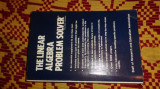 the linear algebra problem solver  1007pag/an 1986/ carte in limba engleza