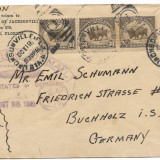 PLIC  1928 USA CATRE GERMANIA POSTA ZEPPELIN !MARE RARITATE !, SUA, Istorie, Stampilat