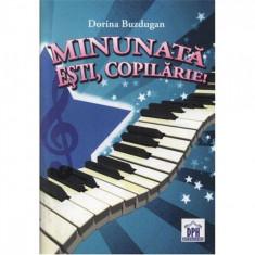 Minunata Esti Copilarie (Carte Cantece+CD) - Dorina Buzdugan