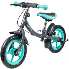 Bicicleta fara Pedale Dan Plus Turquoise